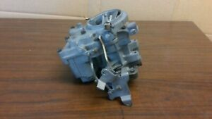 Rochester 2g Carburetor Manual Hand Choke Front Fuel Inlet