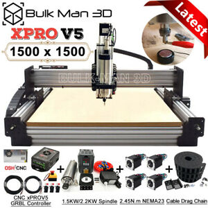 Newest 1515 Work bee Cnc Router Machine Full Kit 4axis Cnc Milling Machine Kit