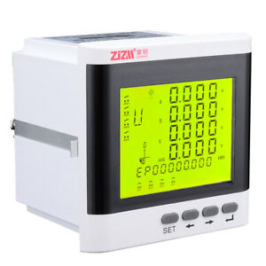 Multi function 3 phase Digital Lcd Display Energy Voltage Current Power Meter
