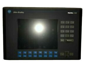 used Allen Bradley 2711 k10c8 Series A Panelview 1000 Color Keypad dh rs 232