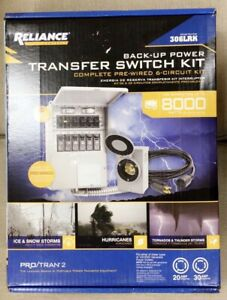 Reliance 306lrk Complete Pre wired 6 circuit Transfer Switch Kit P2