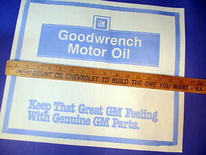 Lot Of 30 Gm Goodwrench Auto Car Dealer Paper Floor Mats Protector Sign