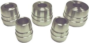 5 Pc Brake Lathe Double Ended Tapered Cone Adapter Set 1 Arbor Ammco 9232 Usa