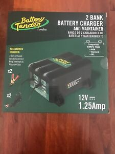 Battery Tender 0220165dlwh 2 Bank Battery Charger