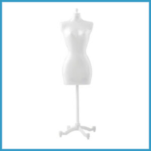 White Black Dress Form Clothing Gown Gisplay Mannequin Model Stand Doll Toy