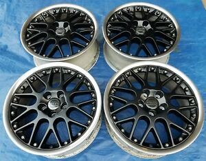 Volvo C70 S70 V70 Xc70 Oem Bbs Rs797 17 Restored Matte Black Propus Wheels Rims