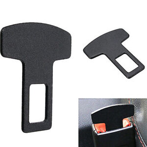 1pc Universal Car Safety Seat Belt Buckle Extender Alarm Stopper Eliminator Clip
