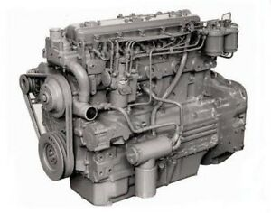 Perkins 6 354 4t Diesel Engine Reman All Complete And Run Tested