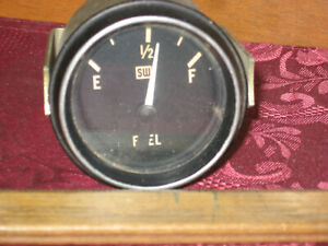 Vintage Sw Stewart Warner 12v Fuel Gauge W Mounting Bracket Rat Rod Decor 2