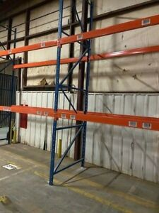 Structural Pallet Racking Package Includes 54 X 21