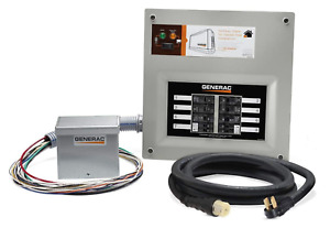 Generac 9855 Upgradeable 50 Amp Transfer Switch Kit For 10 16 Circuits New