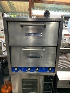 Bakers Pride Double Stack Countertop Pizza Oven Model P 44
