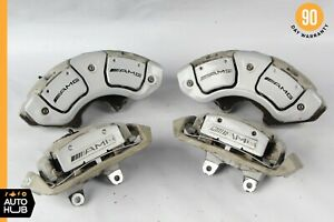 07 13 Mercedes W221 S63 Cl63 Cl65 Amg Front And Rear Brake Caliper Calipers Set