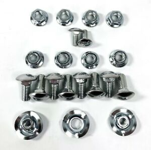 Bumper Bolt Kit With Washers Amp Nuts For 1964 1970 Mustang Amp 1966 1977 Bronco