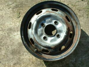 1968 Vw Volkswagen Karmann Ghia 8 Slot Stock Wheel A