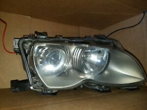 2002 2003 2004 2005 Bmw 325i 330i Passenger Right Xenon Headlight 02 03 04 05