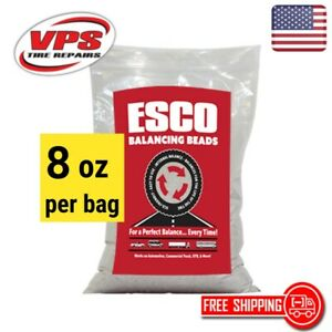 8 Oz Bag Balancing Beads Truck Tire Esco Brand similar Counteract