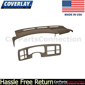 Coverlay Dk Brown 18 216c Dbr For Escalade Dash Instrument Cluster Panel Cover