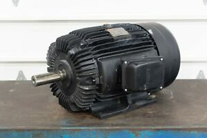 Fukuta Aeef 3ph 20 Hp 220 440 1760 Rpm 160l Frame Ac Induction Motor