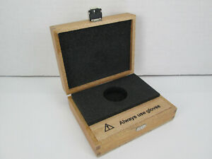 Wood Wooden Box Case For Optical Filter Ua 0983 Box Only No Filter Sku C