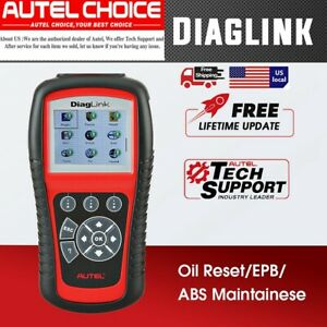 2020 Version Autel Obd2 Code Reader All System Automotive Scanner Tool Abs Srs