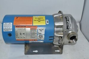 New Goulds Pumps 2st1h2a4fge1 Npe 1 1 4 X 1 1 2 6 316ss Pump Baldor Motor
