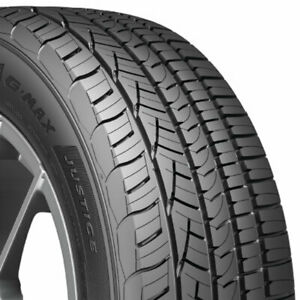 4 new 225 60r16 General G max Justice 98v 225 60 16 Performance Tires