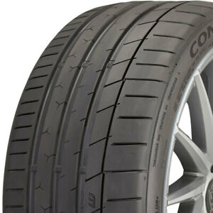 1 new 285 40zr17 Continental Extremecontact Sport 100w 285 40 17 Tires