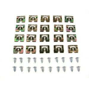 Pck 4586 71 Precision Parts Molding Clip Kit Rear New Coupe For Dodge Charger