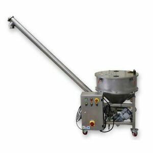 Used 3 Dia Jiabo tech Screw Auger Filler Sanitary Stainless Steel