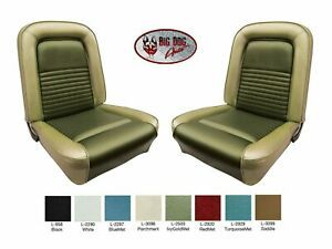 1967 Mustang Front Bucket Seat Cover Upholstery Original Style Any Color