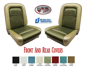 1967 Mustang Convertible Seat Cover Upholstery Any Color By Distinctive Ind