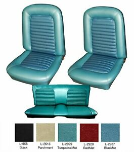 1966 Mustang Fastback Seat Cover Upholstery Your Color Choice By Distinctive