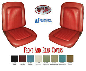 1968 Mustang Coupe Seat Cover Upholstery Any Color By Distinctive Ind