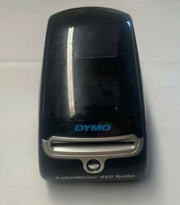 Dymo Labelwriter 450 Turbo Thermal Printer tested No Power Cord