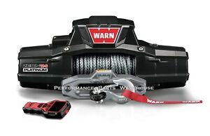 Warn Zeon 12 S Platinum Winch Ultimate Performance Synthetic Rope 12000 Lb 12k