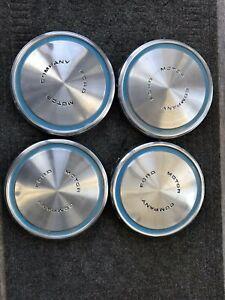 1968 73 Ford Mustang Olympic Sprint 1972 Rally Dog Dish Hubcaps Wheel Covers Set