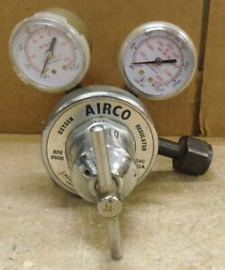 Airco Oxygen Regulator For Torch Assembly Fully Functional free Ship 213b