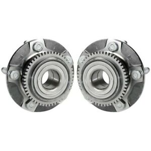 Set Tm513115 Timken Wheel Hubs Set Of 2 Front Driver Passenger Side New Pair