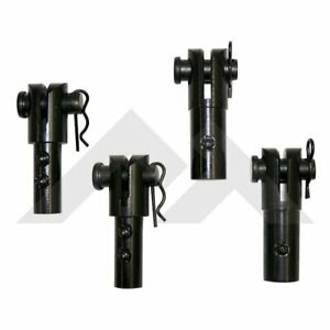 Rt26063 Rt Off road Soft Top Disconnects Set Of 4 New For Jeep Wrangler 97 2006