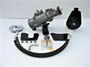 60 61 62 63 64 65 66 Chevy K10 4wd Truck Power Steering Conversion 4x4