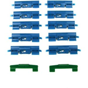 Pck 2218 01 Precision Parts Molding Clips Set Of 12 New Coupe For Honda Civic
