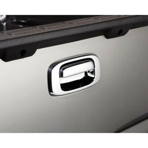 686557 Ventshade Tailgate Handle Cover New Chrome For Chevy Silverado 1500 Gmc