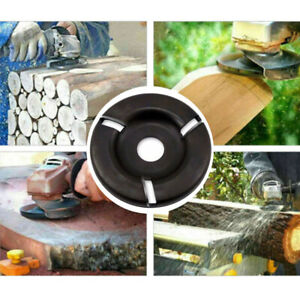 1pcs Woodworking Turbo Plane 16mm for Aperture Angle Grinder Wood Carving Cutter