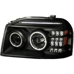 111172 Anzo Headlight Lamp Driver Passenger Side New Lh Rh For Nissan Frontier