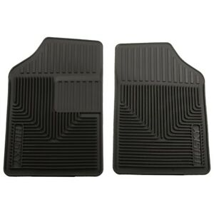 51051 Husky Liners Floor Mats Front New Black For Olds Le Baron Pickup Cutlass