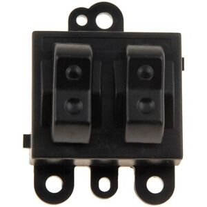 901 403 Dorman Power Window Switch Front Driver Left Side New Black For Le Baron