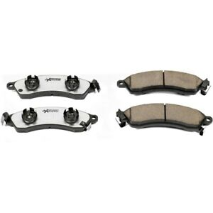 Z26 412 Powerstop Brake Pad Sets 2 Wheel Set Front New For Chevy Ford Mustang