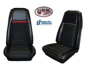 Front Bucket Seat Upholstery Covers 1970 Mustang Mach 1 By Distinctive Ind