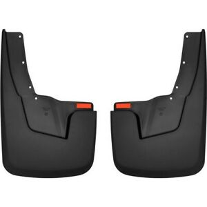 59131 Husky Liners Set Of 2 Mud Flaps Rear Driver Passenger Side New Pair